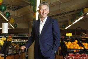 Coles managing director John Durkan expects sales and earnings to improve in the second half of the year.
