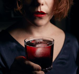 Marionette Cassis and soda for Good Food trends cover.