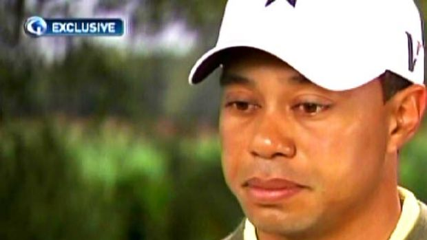 Tiger woods car crash story