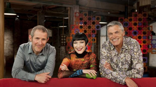 Changes ... Collectors hosts Adrian Franklin, Claudia Chan-Shaw and Gordon Brown.