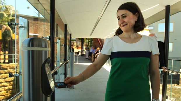 Gladys Berejiklian was formerly NSW Transport Minister and responsible for the rollout of the opal card.