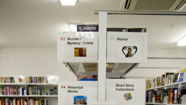 The selection of library books at Canberra's only jail aims to promote life-long learning.