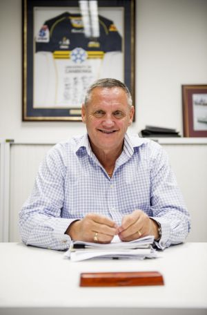 Former Brumbies chief executive officer Doug Edwards