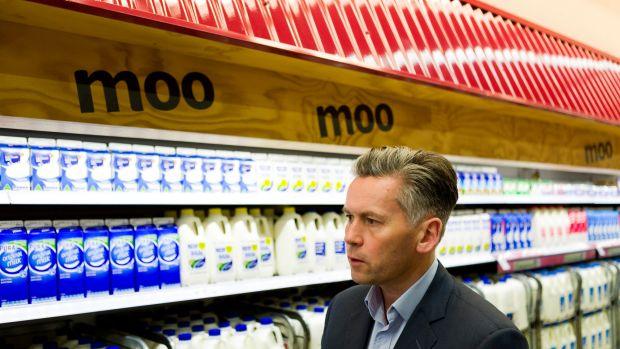 """Changing the way we do business"": New Coles managing director John Durkan has established a supplier charter."
