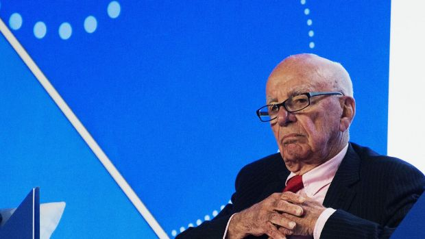 Not forgotten: Debt nearly brought down Rupert Murdoch's empire in the 1990s.