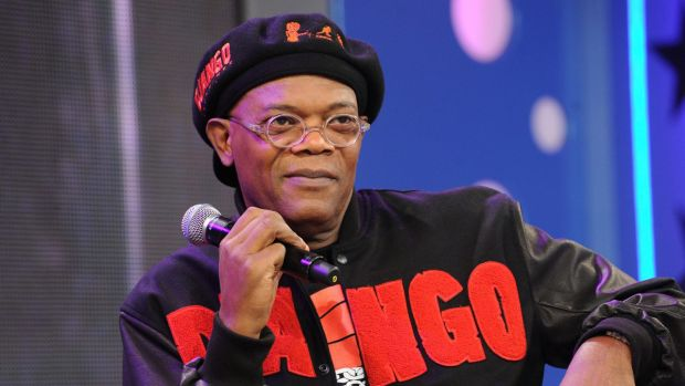 """Actor Samuel L. Jackson stars in Snakes On A Plane, which would may have been better if they'd flashed the words """"Snakes ..."""
