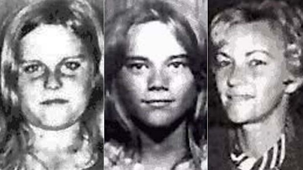 Barbara McCulkin (right) and her daughters Vicky (left) and Leanne (centre) disappeared from their home on January 16, ...