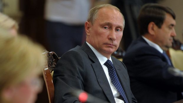 Russian President Vladimir Putin has vowed to use military force to protect Russian-speaking 'compatriots' across the ...
