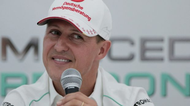 Michael Schumacher dreamed of disappearing from the public eye.