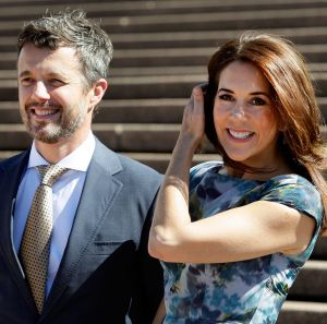 Crown Princess Mary of Denmark at the Sydney Opera House.