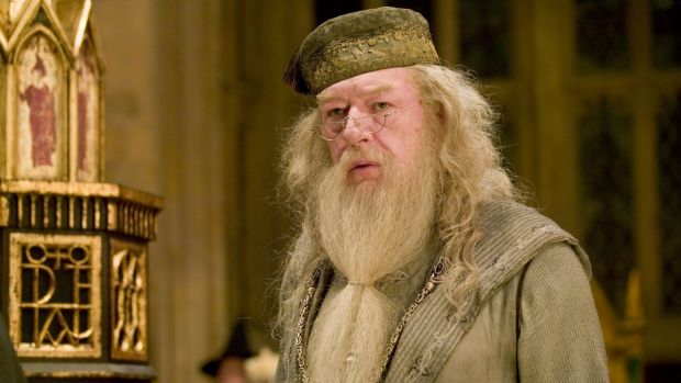 Rowling argued Dumbledore (played by Michael Gambon in the film adaptation of the Harry Potter books) would have ...