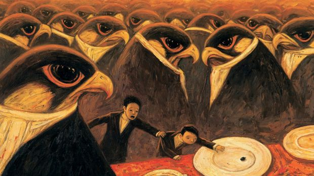 Never eat the last olive at a party: from Rules of Summer by Shaun Tan.