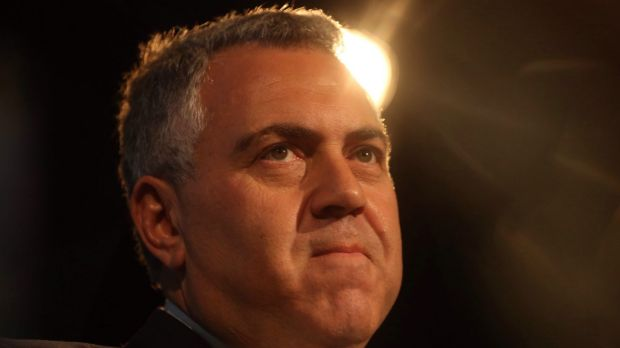 After 11 months in the job, Treasurer Joe Hockey is stretching to blame his predecessor for the economic outlook.
