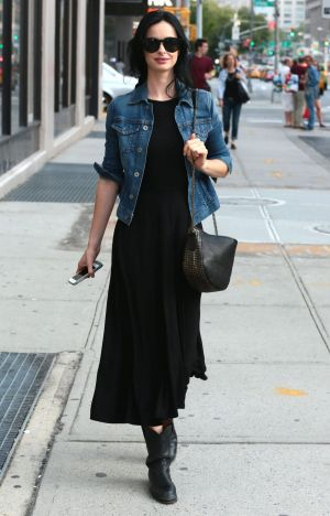 Never out: Denjas have always, and will always be, cool -  as  actress Krysten Ritter  illustrates.