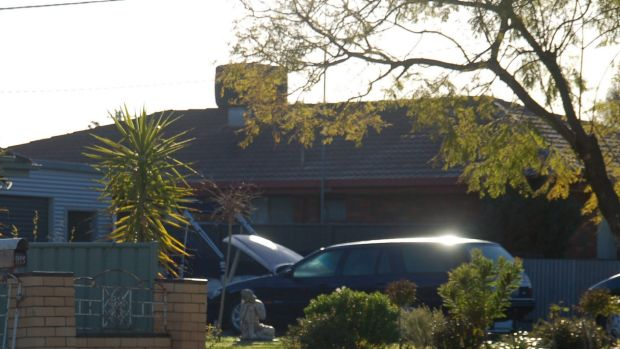 The Kerang home where a couple were wounded by a gunman who later shot dead another woman on a farm at Murrabit West and ...