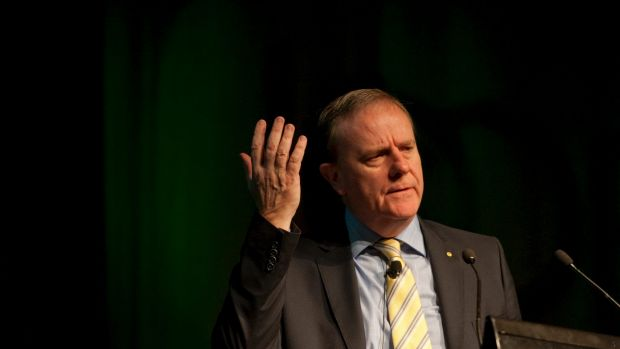 """The $1000 GST threshold for online purchases has created an """"unlevel playing field"""" says former treasurer Peter Costello."""