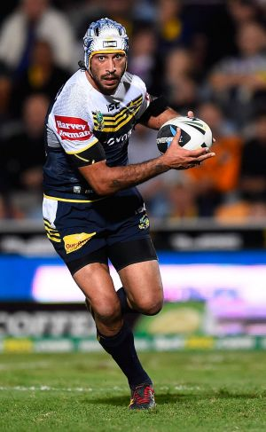 Disrespectful?: Cowboys star Jonathan Thurston.