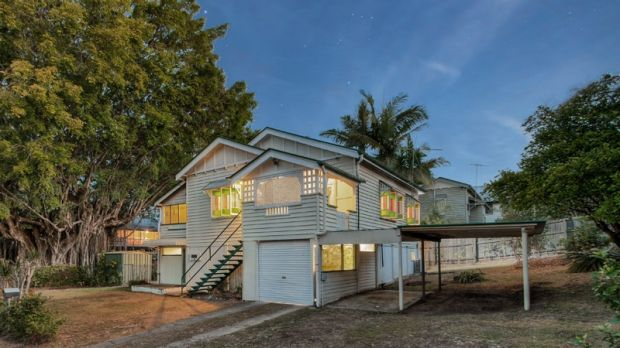 This New Farm home at 27 Elystan Road will go under the hammer this month.