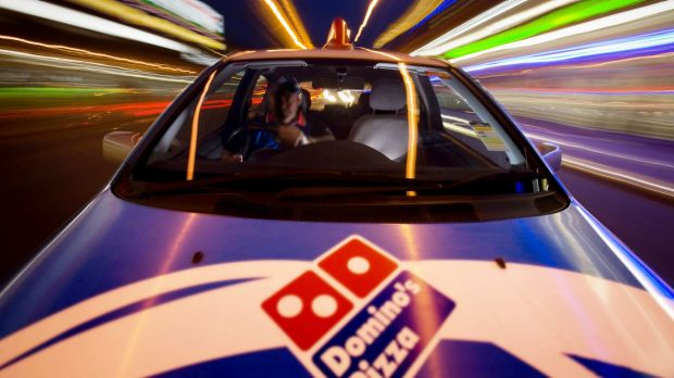 Dominos wants a bigger slice of the fast food market.