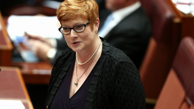 Slowing demand: Minister for Human Services Marise Payne explains co-location model rationale.