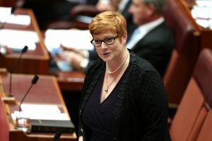 Voters were encouraged by Mike Baird's strong message: Marise Payne.