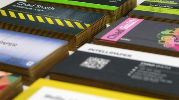 Are smart business cards the next big thing for passing out your details?