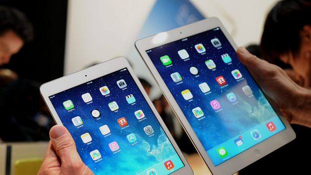 The current iPad Mini and iPad Air are said to be expecting a bigger brother.
