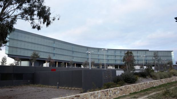 Financial sinkhole? ASIO's new headquarters in Canberra.