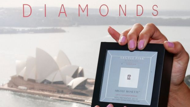 During volatile financial times there's a flight to the rarity of diamonds, Argyle Pink Diamond manager Josephine ...