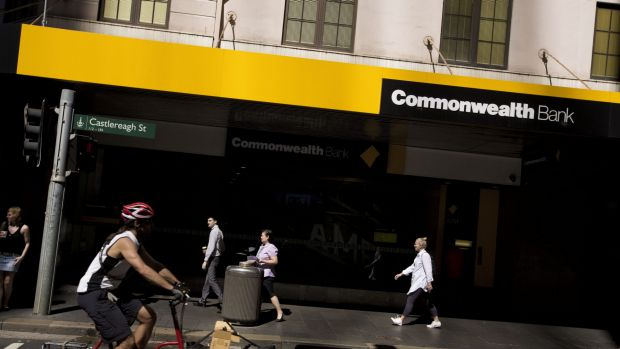 Banks are king: Commonwealth Bank shares soared to a record $93.96 last week.