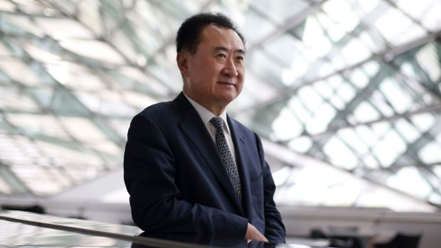 Big losses: Billionaire Wang Jianlin.