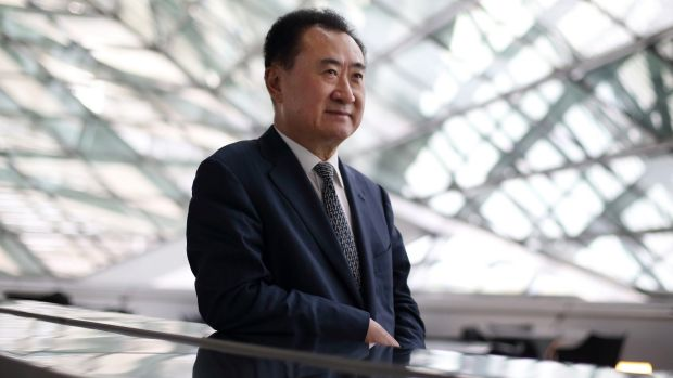 NEW BRAND: Billionaire Wang Jianlin is starting an upmarket Chinese hotel brand in Australia with a $900 million resort ...