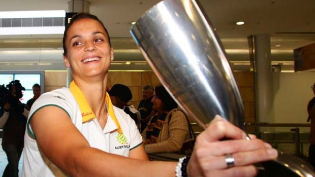 Matildas captain Melissa Barbieri has criticised the media coverage her team received after they won the Asian Cup in May.