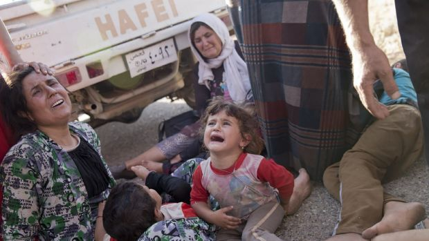 Survival assured?: Yazidi Iraqi refugees are safe for now, according to General Martin Dempsey, chairman of the US Joint ...