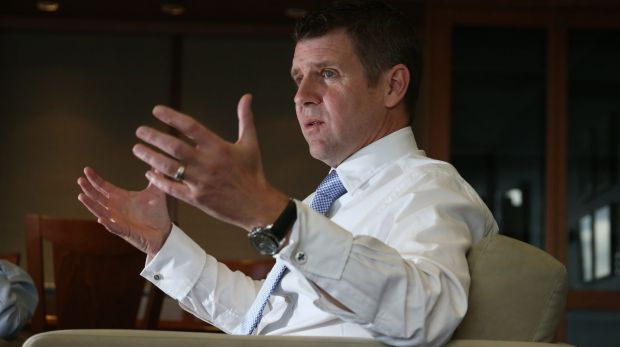 """Combining our know-how"": NSW Premier Mike Baird."