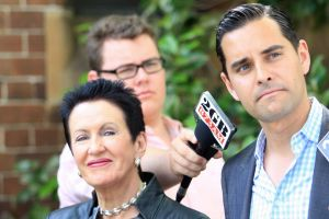 Alex Greenwich is fighting to hold Clover Moore's old seat of Sydney.