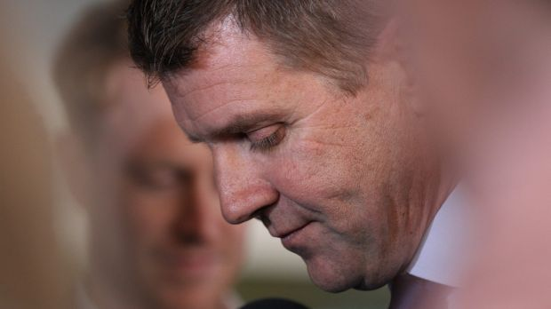 Premier Mike Baird said after question time that he had never accepted an illegal donation.
