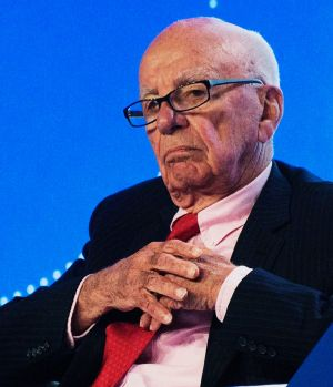 News Corp executive chairman Rupert Murdoch.