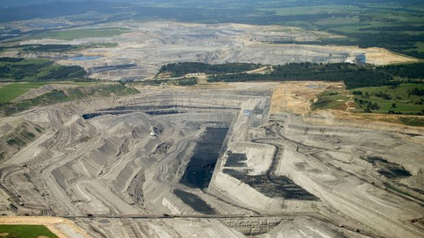 Rio Tinto's Warkworth mine in the Hunter Valley of NSW.