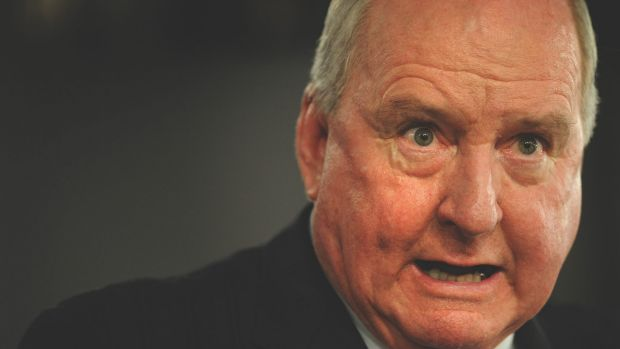 """Who is running NSW?"": Alan Jones has been thanked by Shooters Party MP Robert Borsak for his support of a bill forcing ..."