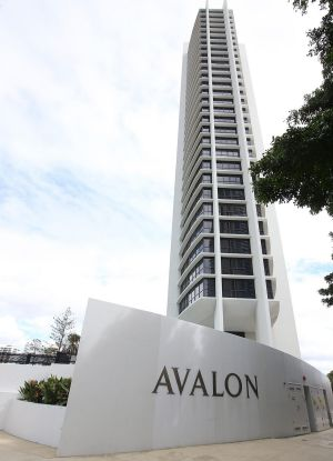 The Avalon apartments on the Gold Coast.