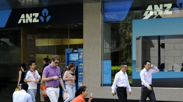 "The bank was performing well, but sections of the Australian economy were ""softer than expected,"" said ANZ boss Mike Smith."