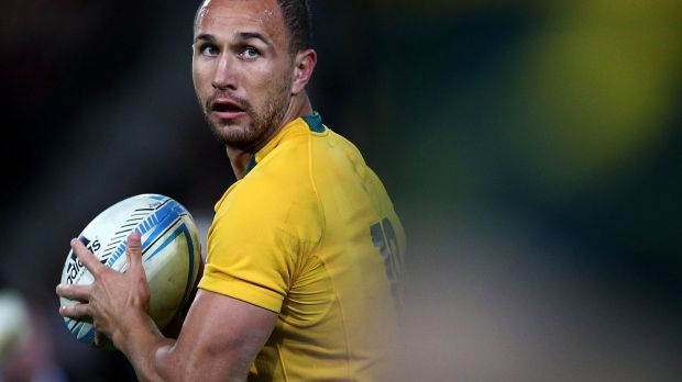Quade Cooper brings X-factor to the Wallabies.