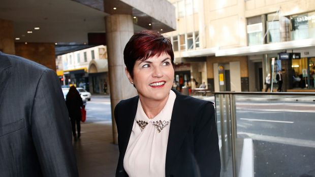 Robyn Parker heads into the ICAC on Friday.