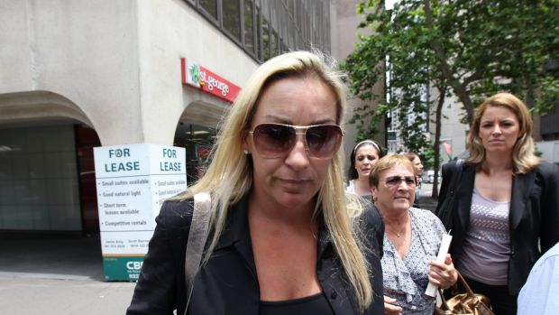 Keli Lane during her Supreme Court trial in 2010.