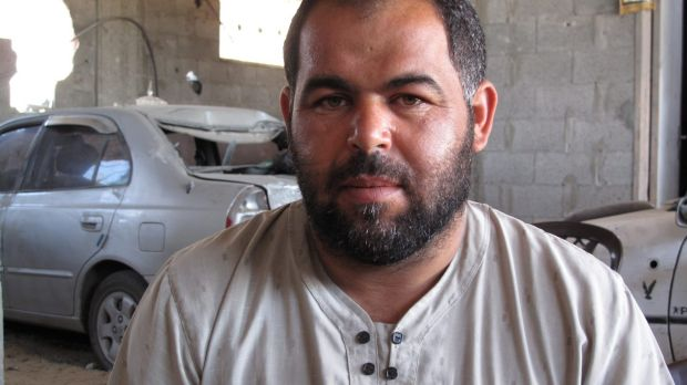 Salah al-Najjar, 34, who lost eight relatives in one airstrike on July 30, but the Najjar family itself lost 37 in total.