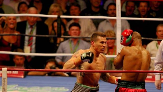 """""""Heads will roll"""" ...  Danny Green claims an investigation after his win against Roy Jones in December cost him a fortune."""