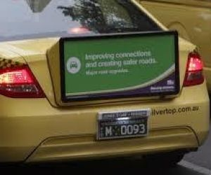 One of the outdoor ads that appeared during the $15 million Moving Victoria ad campaign.