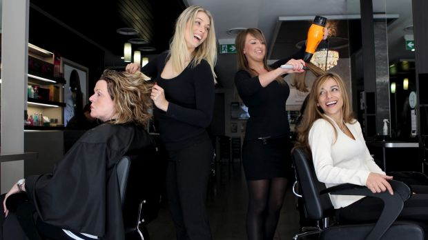 """""""If a person came into the salon and were given a hairdresser who only had eight days training at TAFE, I don't think ..."""