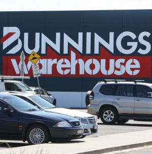 """Bunnings, which releases its full-year results on August 20, says it controls 17 per cent of the market""."